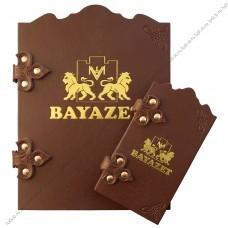 Заказать папки меню Баязет