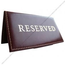Таблички для ресторана стол заказан