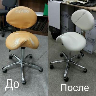 Реставрация стула для салона красоты